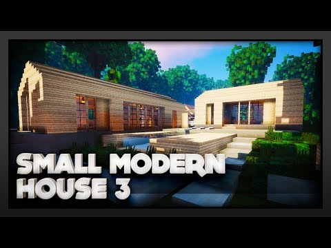 Minecraft - Small Modern House 3