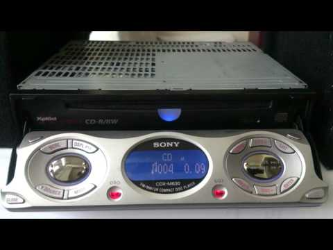 SONY CDX-M630 REVIEW (old school)