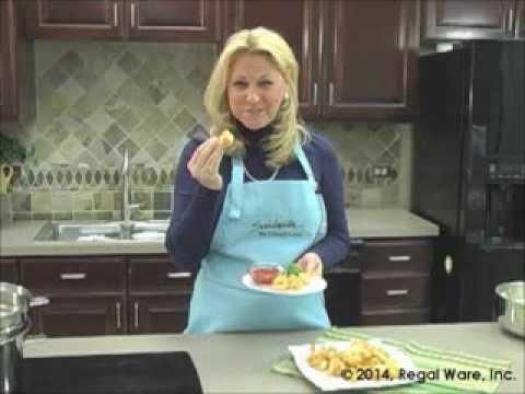 Saladmaster Recipes: Shrimp Tempura (Culinary Basket)