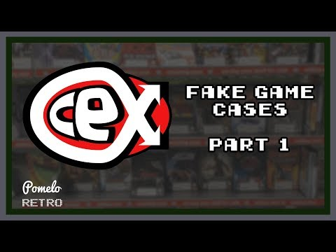 CEX illegally printing fake game cases Part 1 | Pomelo Retro