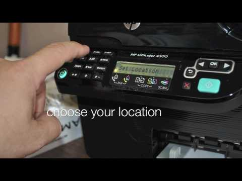 Hp officejet 4500 wireless all-in-one printer g510n (cq663a.