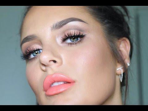 Chloe's ORGASM Makeup Tutorial! Natural Peachy Flush ;-)