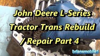 Tuff Torq K66 Hydrostatic Transaxle Rebuild - Part 1