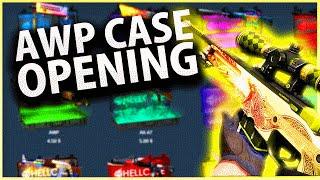 CSGO BETTING: DRAGON LORE CASE OPENING HUNT!! AWP CASE OPENING (HELLCASE OPENING)