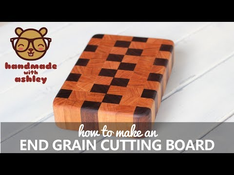 Make an End Grain Cutting Board From Scraps