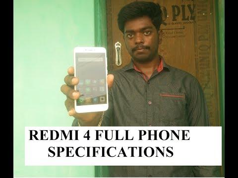 Xiaomi Redmi 4 full phone specifications
