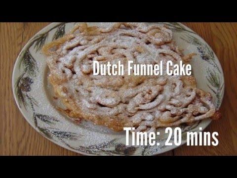 Dutch Funnel Cake Recipe