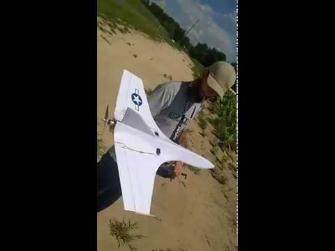 FAST RC  pusher prop jet 4s