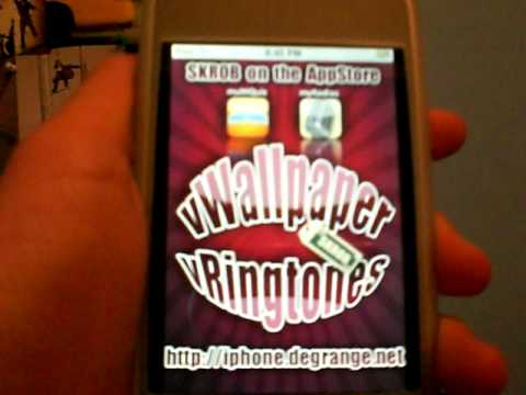 How to Get Moving animated Background on your ipod touch or iphone