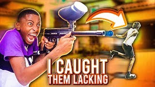 I CAUGHT A YOUTUBER SLIPPIN😂!! (WONT BELIEVE WHAT HAPPEN)😱