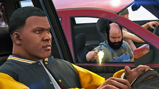 Franklin's Bad Day - GTA 5 Epic Action movie