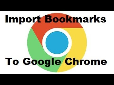 Import Bookmarks From Firefox To Chrome