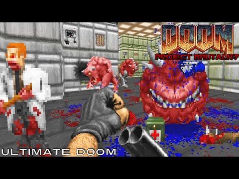 PROJECT BRUTALITY, a Brutal Doom Mod Gameplay #2
