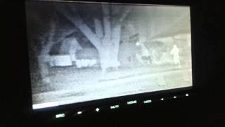 FLIR Thermal Night Vision Camera on Jeep Wrangler