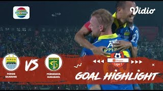 PERSIB Bandung (4) vs (1) PERSEBAYA Surabaya - Goal Highlight   Shopee Liga 1
