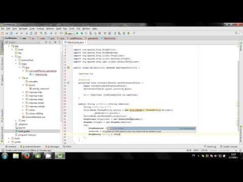 Get Website source code in Android Studio