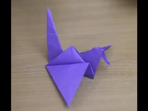 How To Make Origami Flapping Bird - Creative paper craft ideas
