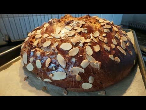 Czech Easter Bread  -  Mazanec