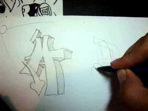 how to make your own graffiti letters