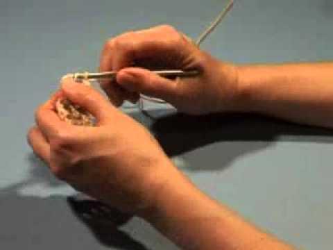 How to crochet a double treble (UK), triple treble (US) crochet stitch