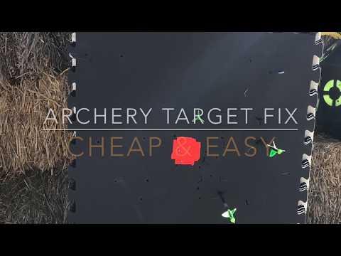 Cheap & Easy Archery Target