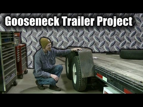 Gooseneck Trailer Project