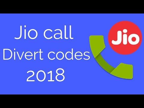 Jio call divert codes 2018