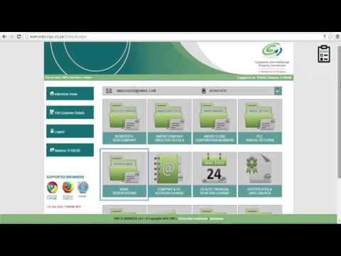 How To Register A Company In South Africa 2016 | STEP 3: Lodging A Name Reservation