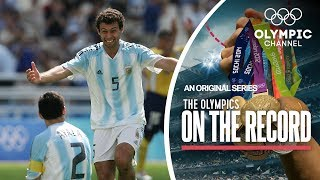 Argentina scores Football perfection In Athens | The Olympics On The Record