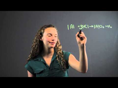 How to Balance a Chemical Equation by Multiplying by the Denominator : Math Equations & More