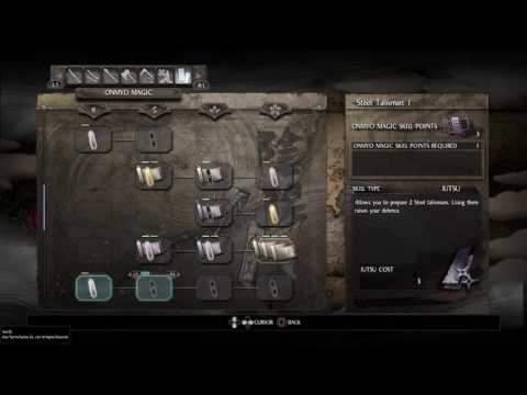 Nioh mage build levelling guide and tutorial - skill pionts, spells, stats and gear explanation