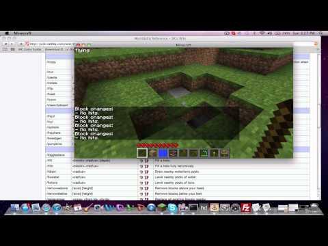 WorldGuard (5.2.2) & WorldEdit (4.6) Tutorial for Minecraft 1.7.3! [Part2- WorldEdit]