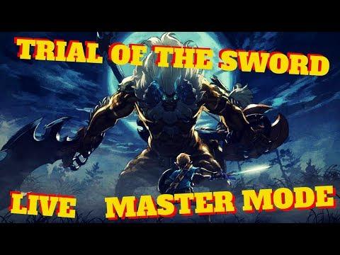 Trial of the Sword Master Mode - Final Trial Livestream Zelda BOTW
