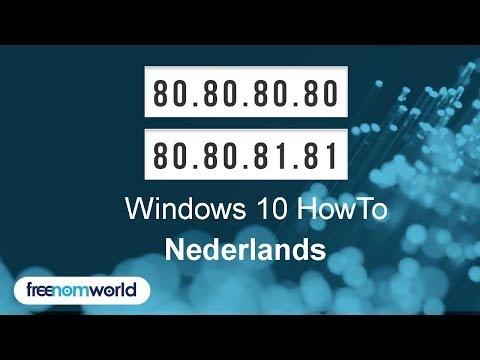 Freenom World Windows 10 HowTo (Nederlands)