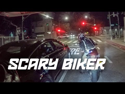YOU'RE A SCARY BIKER THAT'S WHY! | LA BAD DRIVERS