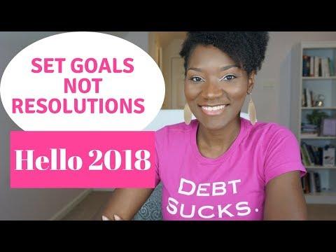 Set Goals, Not Resolutions   21 Day Money Challenge Starts January 1st!!