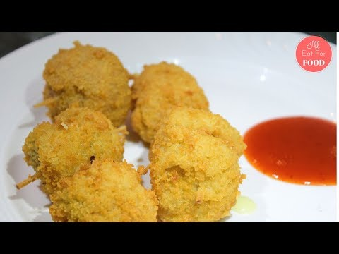 Cheese Stuffed Mushrooms │Episode 077│ I'll Eat For Food