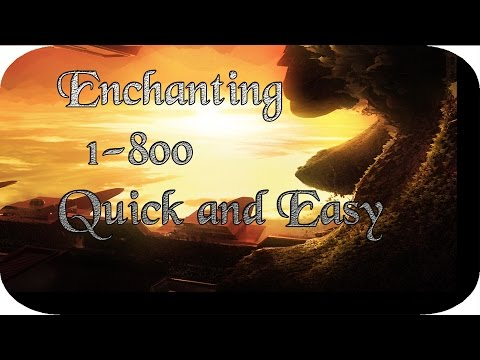 World of Warcraft Enchanting guide 1-300