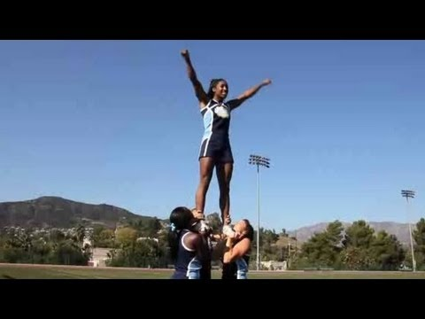 What Is Basic Stunting Technique? | Cheerleading