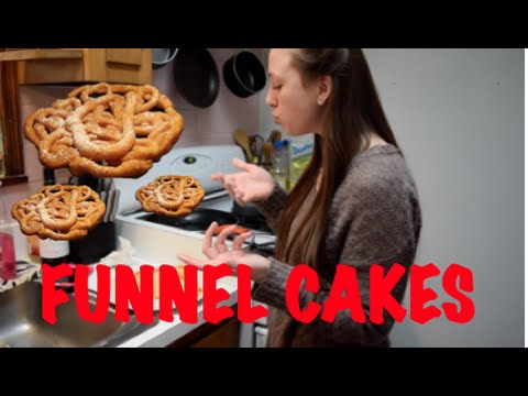 HOW TO MAKE FUNNEL CAKES!