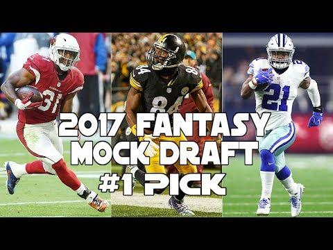 Fantasy Football Mock Draft 10 team PPR Number 1 Pick