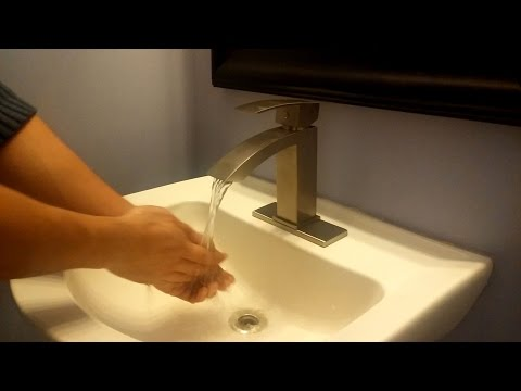 Purelux Gibbon Bathroom Sink Faucet Installation and Review (updated, new version)