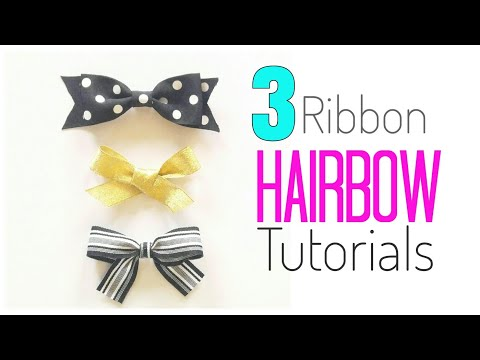 HAIRBOW TUTORIAL | DIY BABY BOWS |