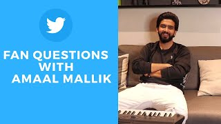 Amaal Mallik Twitter Fan Questions | Relating To Kabir Singh | Song For Katrina Kaif & More