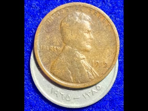 1919 Wheat Penny- Very High Mintage: 392 Million