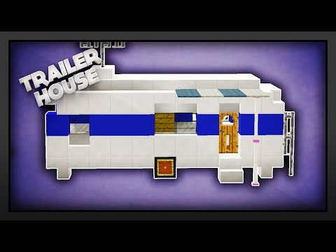 Minecraft - How To Make A Caravan/Trailer Home