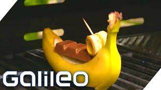 Kuchen & Schokobananen auf dem Grill?! Pimp my BBQ mit leckeren Desserts  | Galileo | ProSieben