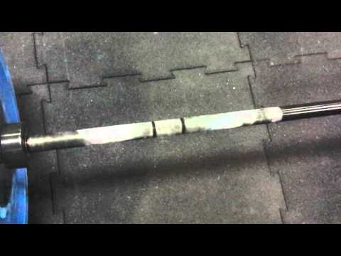 Chinese barbell spin