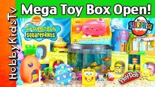 SpongeBob Giant Toy Surprises with HobbyMom