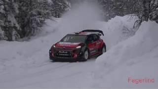 Kris Meeke test for Rally Sweden 2018